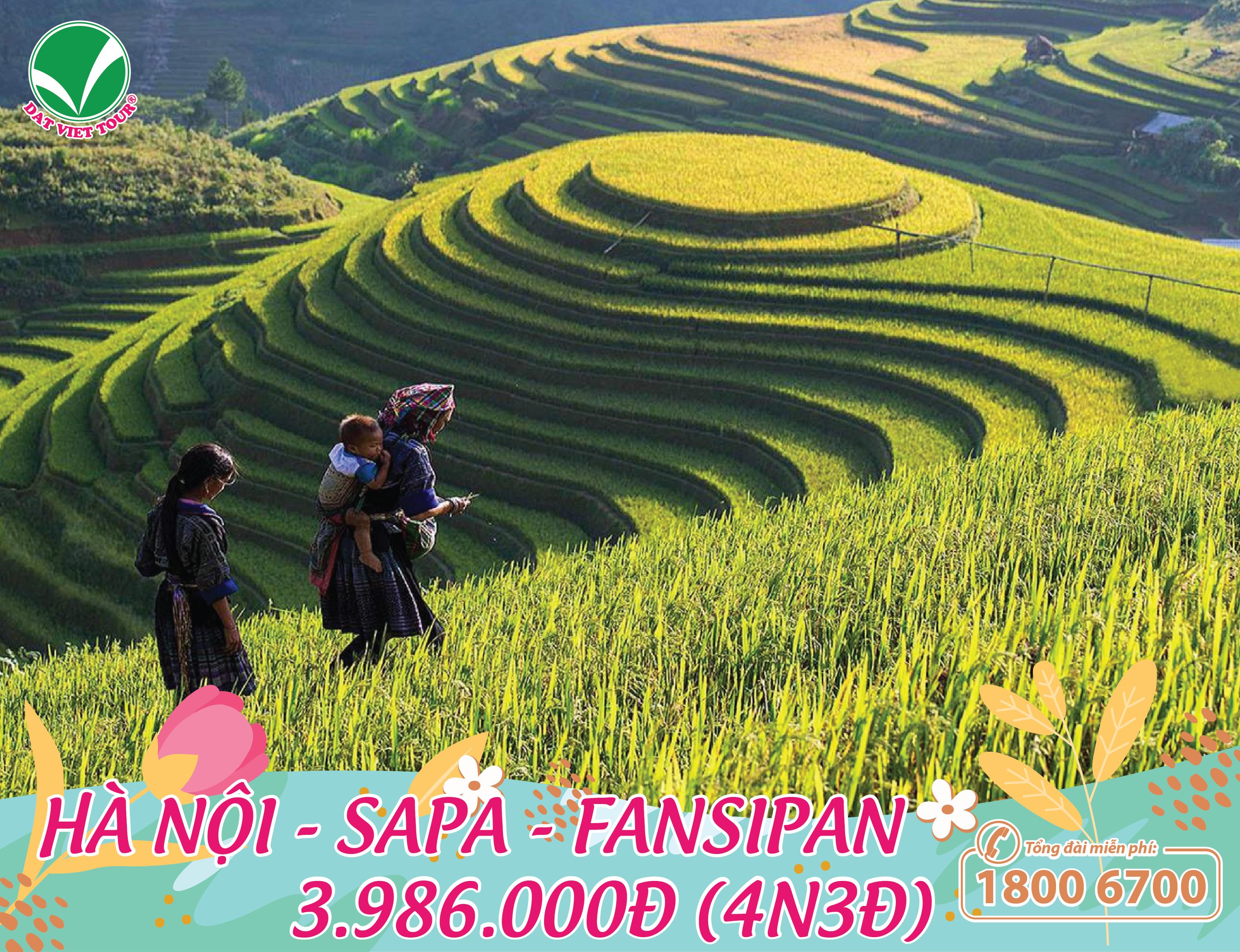 Tour Hà Nội - Sapa